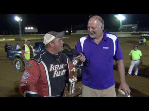 Trail-Way Speedway 358 Sprint Car TW/Lincoln Shootout Champion 09-02-16