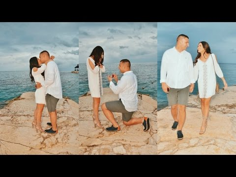 WE'RE ENGAGED!  Proposal Video & Vlog  Jenna Berman