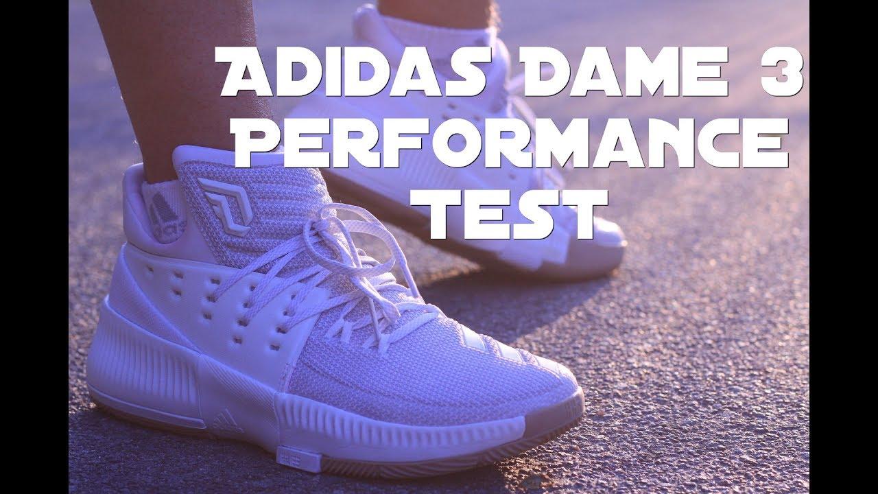timeless design 1e1d9 6e268 Dame 3  Adidas D. Lillard 3 - ein guter Basketballschuh