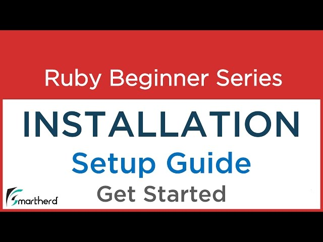 #1.0 Ruby Tutorial : Installation of Softwares: Get Started