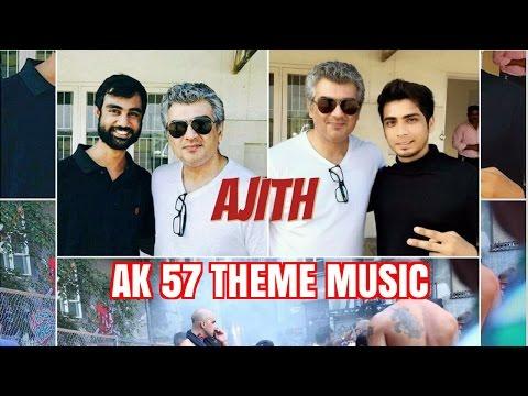 AJITHKUMAR Vivegam AK 57 THEME MUSIC NEW 2017  SIVA  ANIRUDH FANMADE