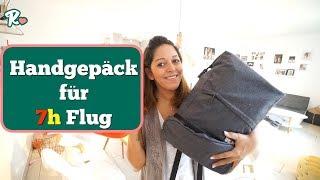 Handgepäck packen - Ein Tag vor Abflug nach Dubai - Vlog#1046 Rosislife