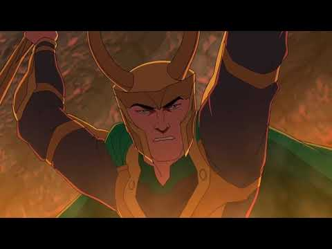 Avengers Assemble Season 1 Episode 10 Part 5 The Doomstroyer By ECTN