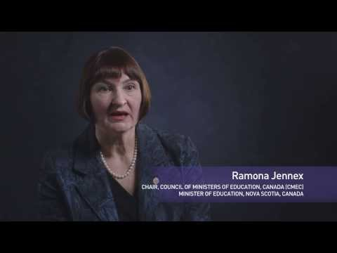 Ramona Jennex, Chair, Council of Ministers of Education, Canada, Minister of Education, Nova Scotia