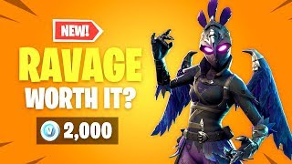 *NEW* Is RAVAGE Skin WORTH IT? Fortnite Item Shop Update