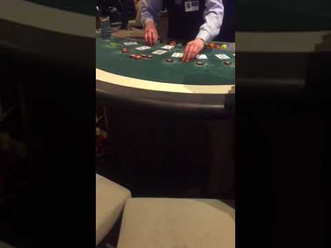 Casino war at Crown Casino .Big win!!