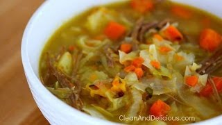 Clean Eating Corned Beef And Cabbage Soup