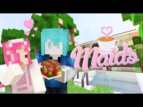 "Minecraft Maids! ""MAIDS PICNIC"" Roleplay ♡89"
