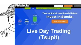 Philstocks Online Live Day Trading Ep1