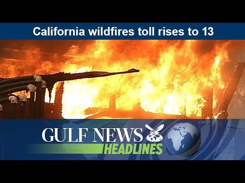 California wildfires toll rises to 13 - GN Headlines