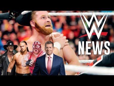 LES 5 NEWS WWE DE LA SEMAINE ! (Undertaker, Big Cass, Sami Zayn...)