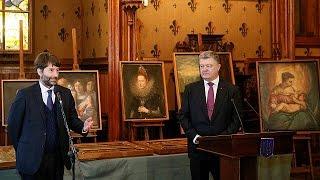 Ukraine : restitution à l'Italie d'œuvres d'art volées