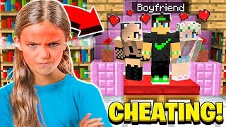 MY LITTLE SISTER'S BOYFRIEND CHEATED ON HER in Minecraft!