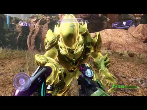 Halo 2A, 4, and 5 - Glowing Armor Glitch