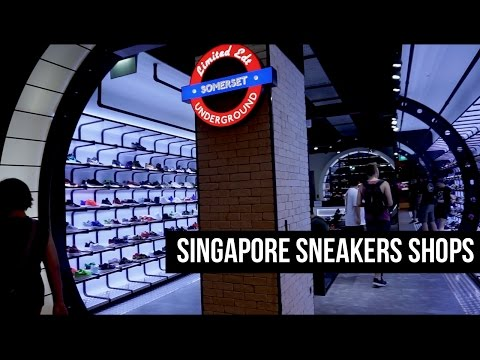 THE SNKRS - SINGAPORE SNEAKERS SHOPS