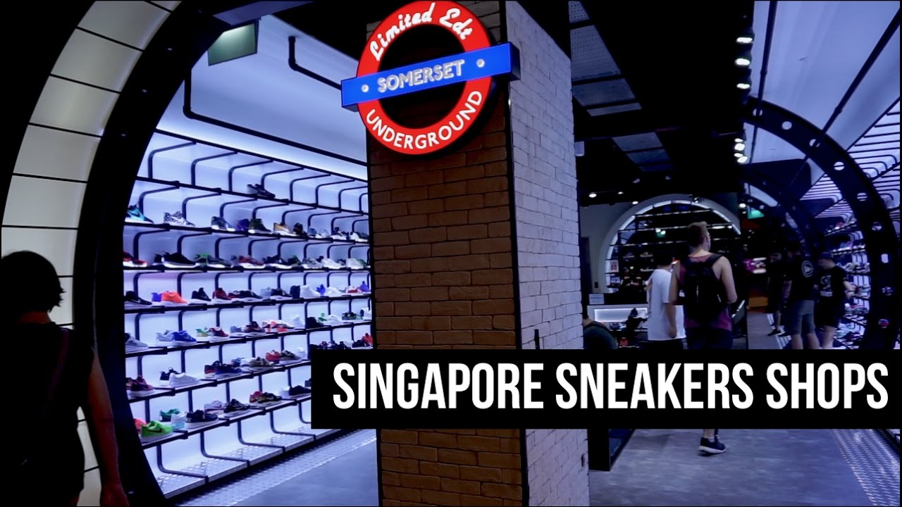 25f612cb39360d THE SNKRS - SINGAPORE SNEAKERS SHOPS - YouTube