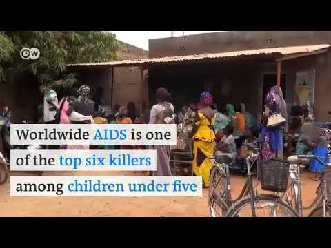 Hope for babies born in Burkina Faso with H.I.V