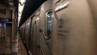 NYC Subway | R160A (N) Train departing 4th Ave - 9th Street