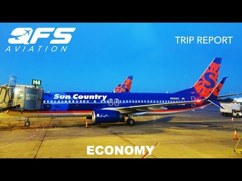 TRIP REPORT | Sun Country Airlines - 737 800 - Seattle (SEA) to Minneapolis (MSP) | First Class