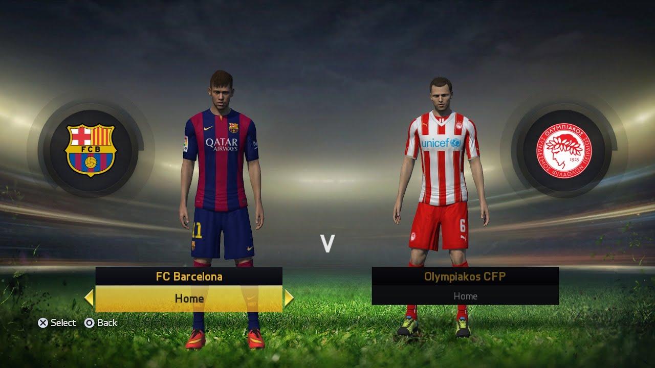 Image Result For Barcelona Vs Olympiakos