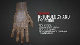 BadKing de ZBrush Retopology ve Projeksiyon (Tam Öğretici.com.au)
