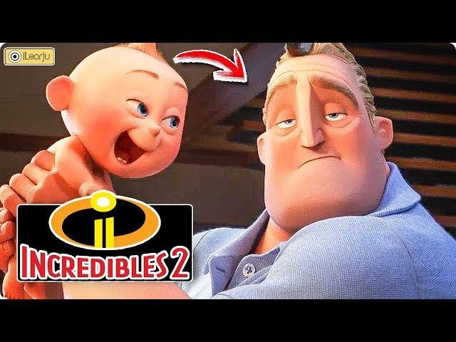 Todo lo que debes saber de LOS INCREÍBLES 2 - Pixar