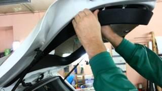 Снятие обшивки крышки багажника ASX