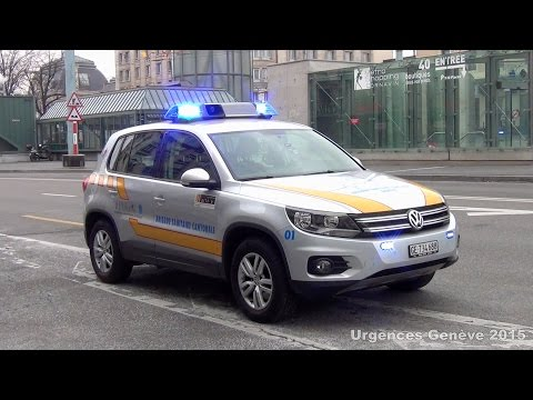 SMUR 01 Genève // EMS supervisor Geneva