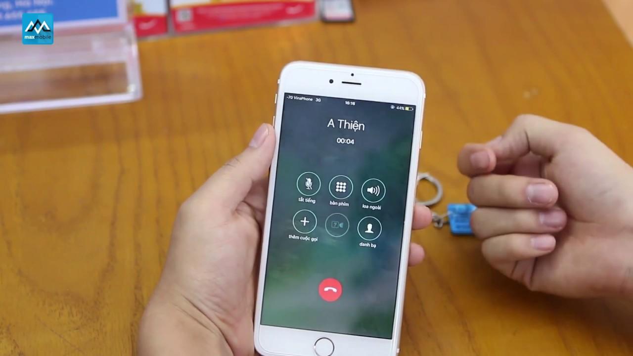 Sim ghép hỗ trợ 4G chuẩn quốc tế iPhone 6 6S 7 Plus không cần fix lỗi