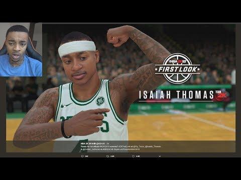 WHAT CHANGED!? LEAKED NBA 2K18 Paul George, DeRozan, Isaiah Thomas! Gameplay Screenshots REACTION!