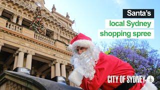 Santa's Sydney shopping spree - City of Sydney