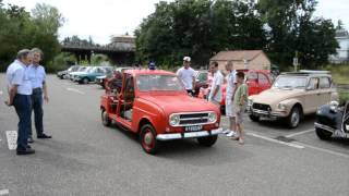 Renault 4L Pompier de 1968 (Ancien véhicule d'intervention d'aéroport)