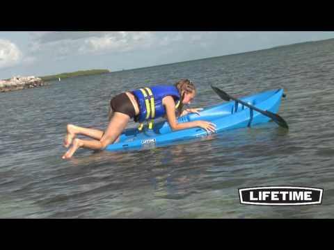 Lifetime 6 Ft Wave Kayak, Blue (Model 90097)