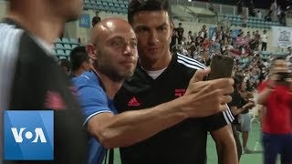 Cristiano Ronaldo and Juventus Get Ready for ICC Match Against Inter Milan in China