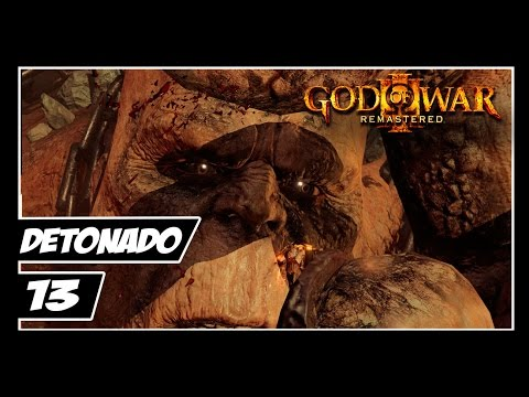 GOD OF WAR 3 REMASTERED - Detonado #13 - KRATOS VS CHRONOS!!! [PT-BR 60fps PS4]