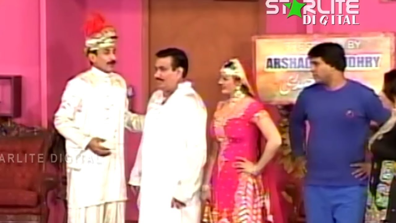 New Thakur and Nasir Chinyuti Pakistani Stage Drama Full Comedy Funny Play