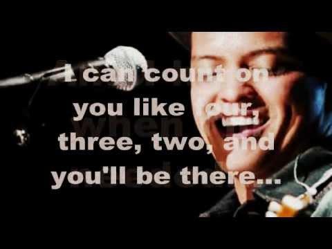 Count On Me (Lyrics) - Bruno Mars