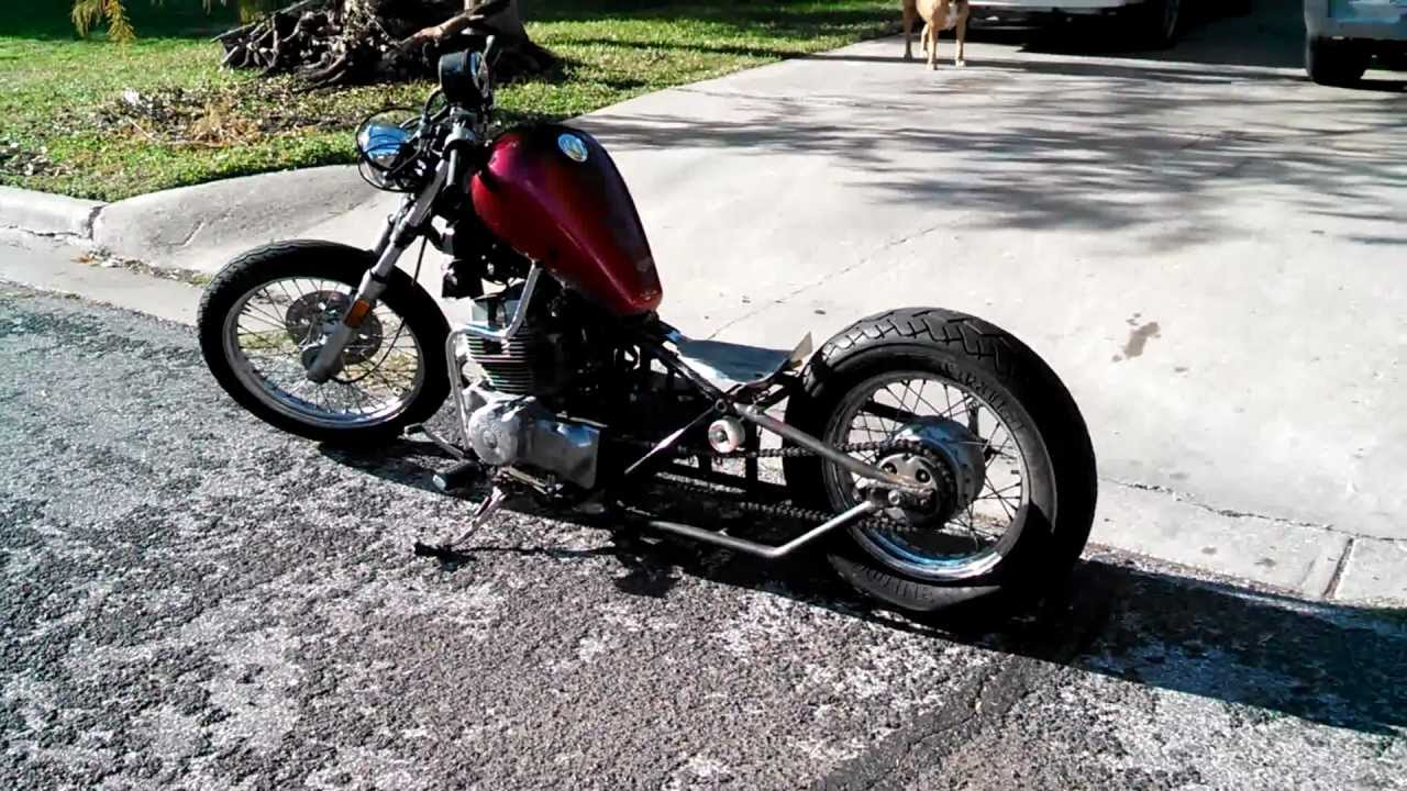Hardtail Rebel Bobber 250 Stretched And Chopped Youtube