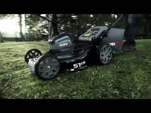 Powerworks 60v Lawnmower Self Propelled Youtube