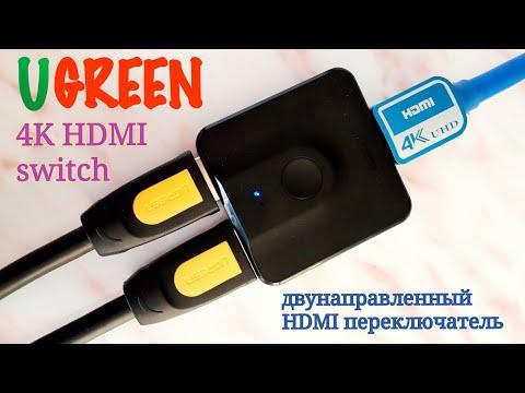 Двунаправленный переключатель/сплиттер HDMI от UGREEN.