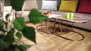 마석수갤러리 트윈 대리석 소파테이블