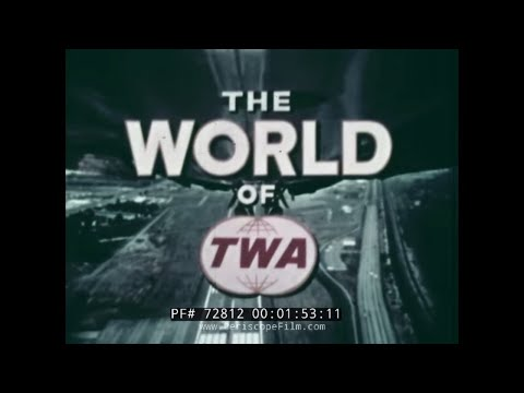 THE WORLD OF TWA TRANS WORLD AIRLINES  ROUND THE WORLD TRIP 1970s 72812