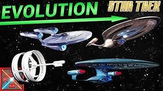 Die EVOLUTION der ENTERPRISE SCHIFFE - STAR TREK ENTERPRISE erklärt