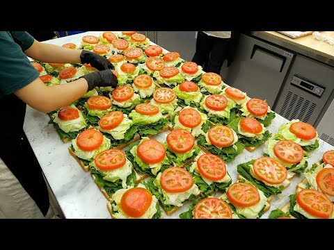 Download Wow! Ham Cheese Egg Sandwich - Korean Street Food [ASMR]