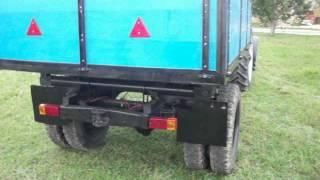 Саморобний причіп до трактора МТЗ 82(, 2013-09-22T19:18:45.000Z)