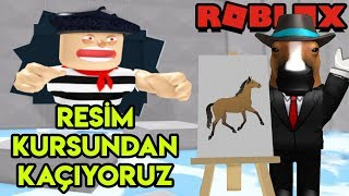 We're Running away from the 🎨 Painting Course 🎨 | Escape The Art Store Obby | Roblox English