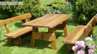 Outdoor Rustc Garden Furniture