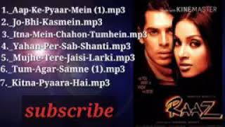 Raaz movie all mp3 song