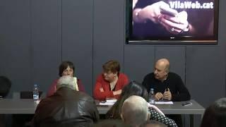Presentació a l'Espai VilaWeb de la biografia de Xavier Romeu