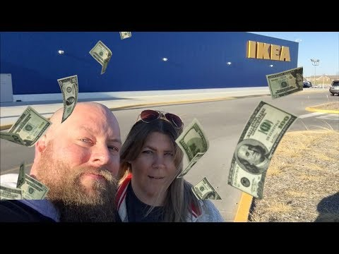 FRANCHISE FAMILY GOES SHOPPING AT IKEA LOOKING TO MAKE MONEY + POSSIBLE INJURY CAPTURED ON CAMERA